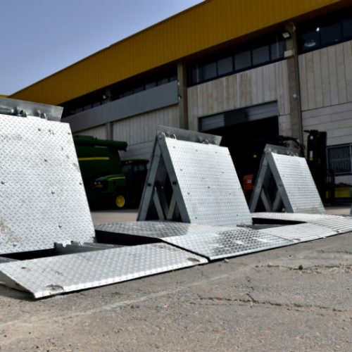 These special vehicle barriers used in industrial zones